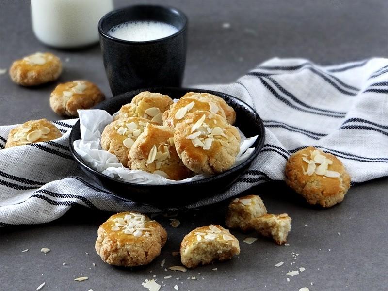 galletas de almendra con tres ingredientes