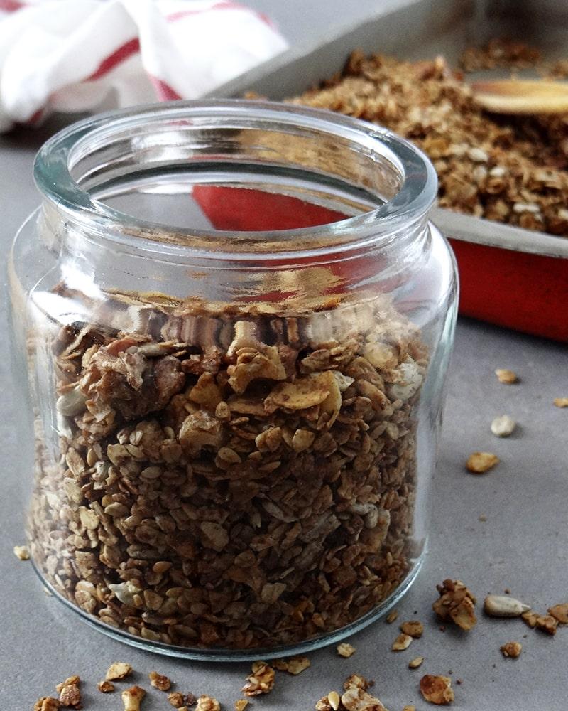 granola casera saludable