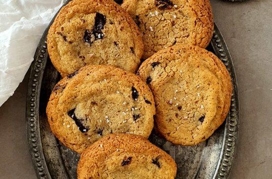 Receta de galletas americanas
