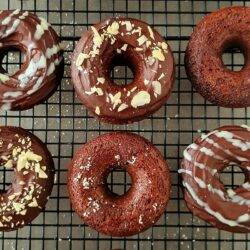 Donuts de chocolate saludables