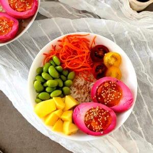 poke bowl receta facil